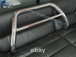 Fit Mitsubishi L200 Bull Bar Chrome Nudge Push A-bar Acier Inoxydable 2015-2019