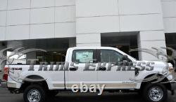 Ford F-250 Super Duty Crew Cab 6.5' Short Bed Rocker Panel Trim 4 3/4
