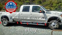 Ford Super Duty/f-250 Crew Cab Dually Duelie Rocker Panel Trim 10 1/2