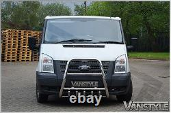 Ford Transit Haute Un Bar Bull Nudge 2007-13 Chrome En Acier Inoxydable Poli A-bar