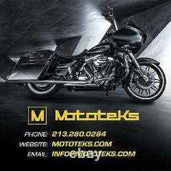Harley Fat Spoke Roue 23x3.5 52 Dna Portes Inox Touring Bagger USA Construit