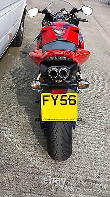 Honda Cbr1000rr 06-07 Échappement D'échappement Routier À Double Sortie Ovale Inox Fireblade