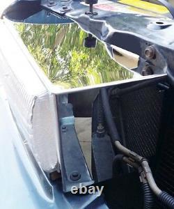 Impala Ss Lt1 1994-1996 2 Pc Inoxydable Poli Phares Shroud Couvre Caprice