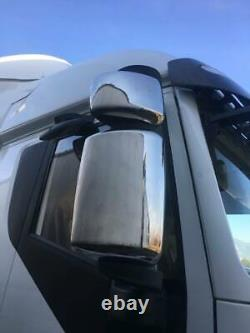 Iveco Stralis Camion Chrome Wing Miroir Couvercle 4pièces Acier Inoxydable