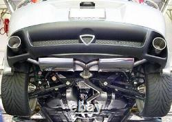 Poli Stainless Steel Cat Back Performance Exhaust Muffler 2003-12 Mazda Rx-8