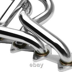 Pour 05-10 Ford Mustang Gt 4.6l V8 Stainless Steel Exhaust Manifold Racing Header