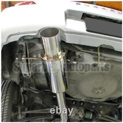 Pour 2002-2007 Subaru Impreza Wrx Sti 2.0l 2.5l Inox N1 Catback Échappement