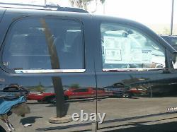 Pour 2005-2015 Nissan Armada En Acier Inoxydable Porte-fenêtre Chromées