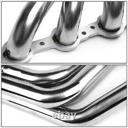 Pour 67-74 Sbc V8 Ls/ls1-ls6 Lsx Swap Stainless Long-tube Header Exhaust Manifold