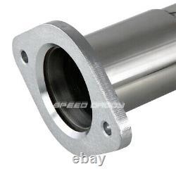 Pour Chevy / Gmc Gmt900 4.8 / 5.3 / 6.0 Long En Acier Inoxydable Tube Tête D'échappement + Y Tuyau