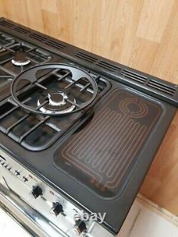 Rangemaster Toledo 110 Xt Range Cooker In Stainless Steel & Chrome. Réf-a123