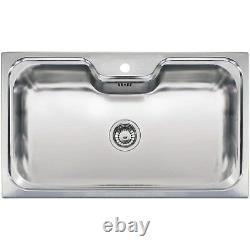 Reginox Jumbo 1 Bowl Stainless Steel Chrome Inset Kitchen Sink Jumbo