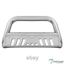 Topline Pour 1997-2003 F150/expedition Bull Bar Bumper Grille Guard Stainless