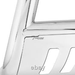 Topline Pour 2008-2012 Nissan Pathfinder Bull Bar Bumper Grille Garde En Acier Inoxydable