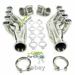 Turbo Collecteur D'échappement Et En-têtes Pour Ls1 Ls6 Lsx Gm V8 + T3 T4 À Elbows 3.0 V Band