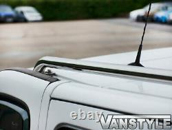 Vauxhall Vivaro Lwb 200114 Poli Chrome Stainless Steel Roof Bars Rails Rack