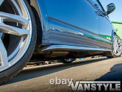 Vw T6/t6.1 Transporteur Swb 15sportline Angled Sidebar Poli Stainless Chrome